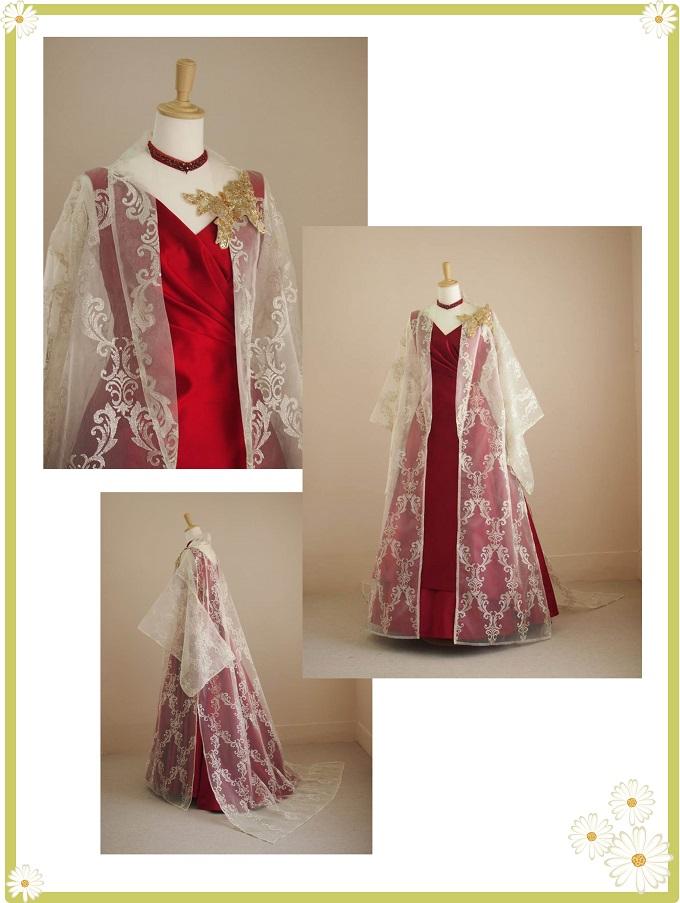 市川様ドレス1