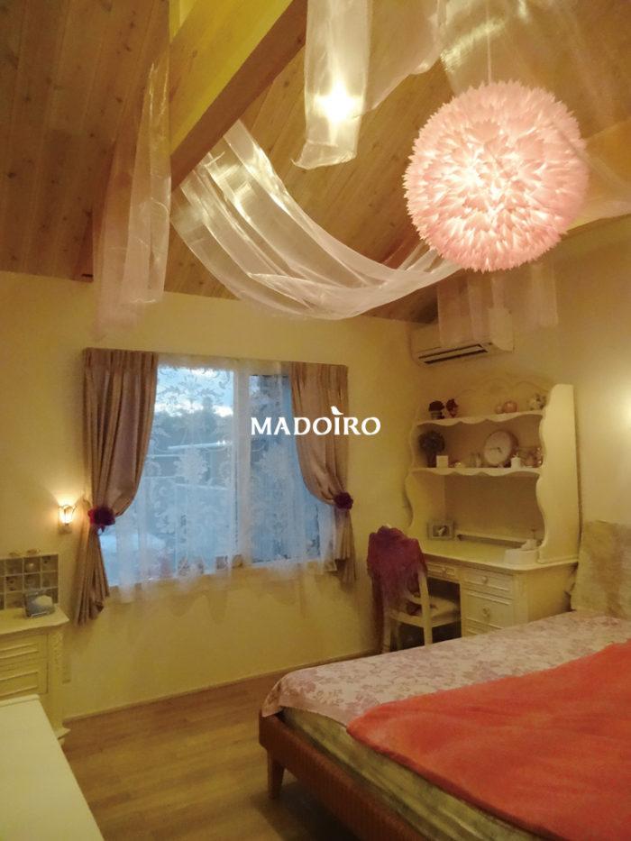天井布付ベッドルーム(寝室)